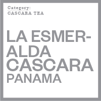 Cascara tea
