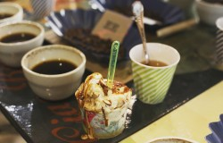 cow and the moon Mandorla Affogato