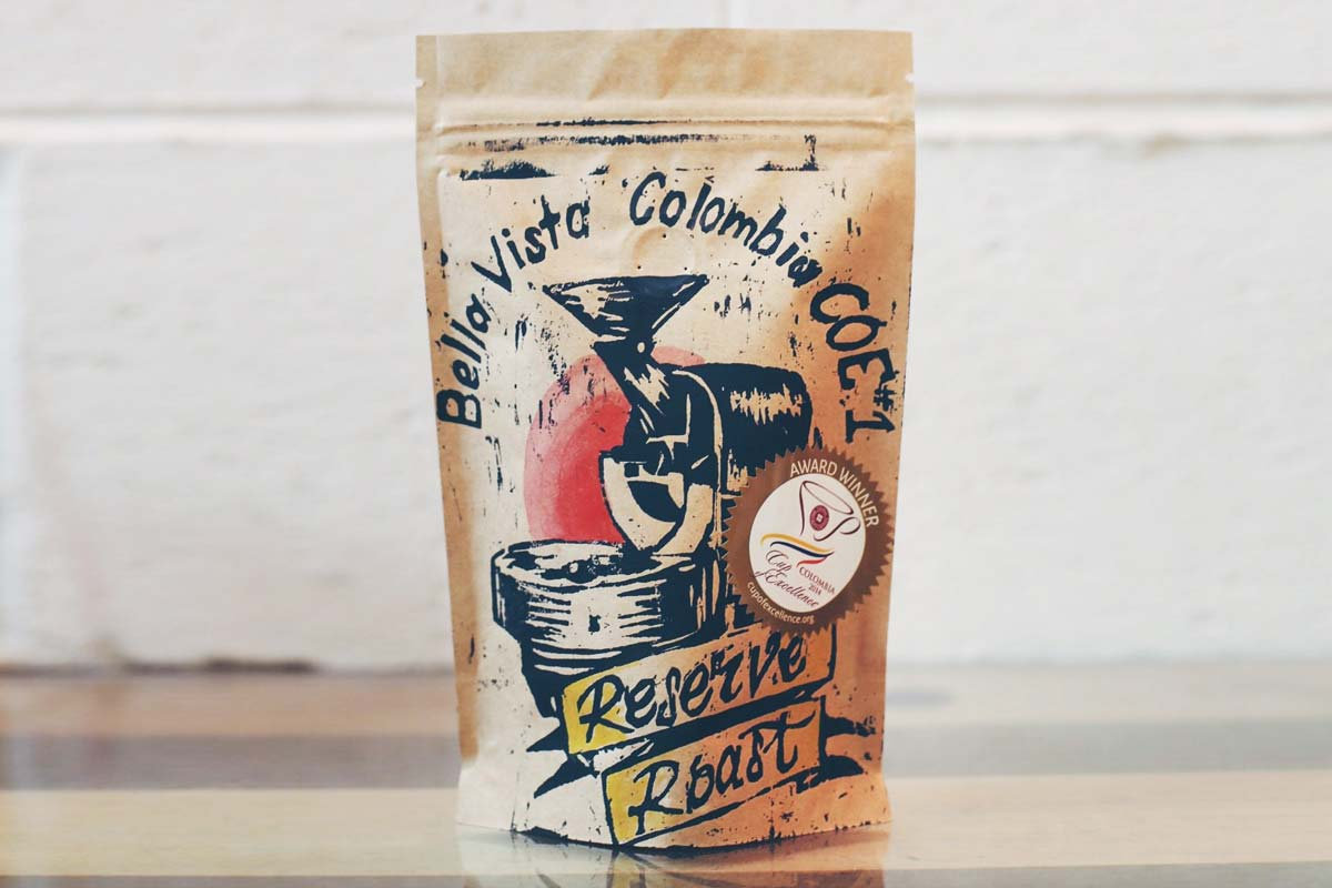Bella Vista Colombia Cup of Excellence #1 coffee