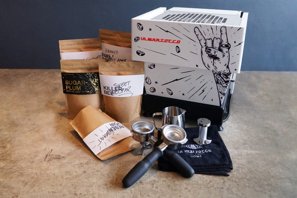 Single O customised La Marzocco Linea Mini Coffee Machine
