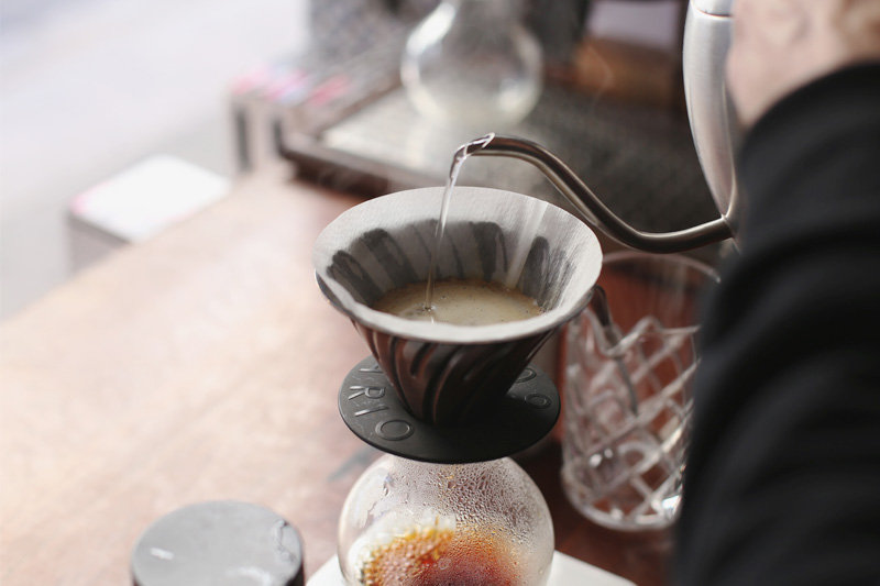 Single O V60 pour over