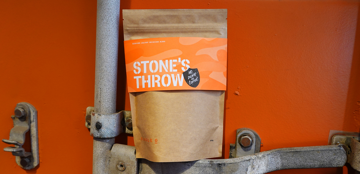Single O's Stones Throw Missions Against Emissions Coffee Blend