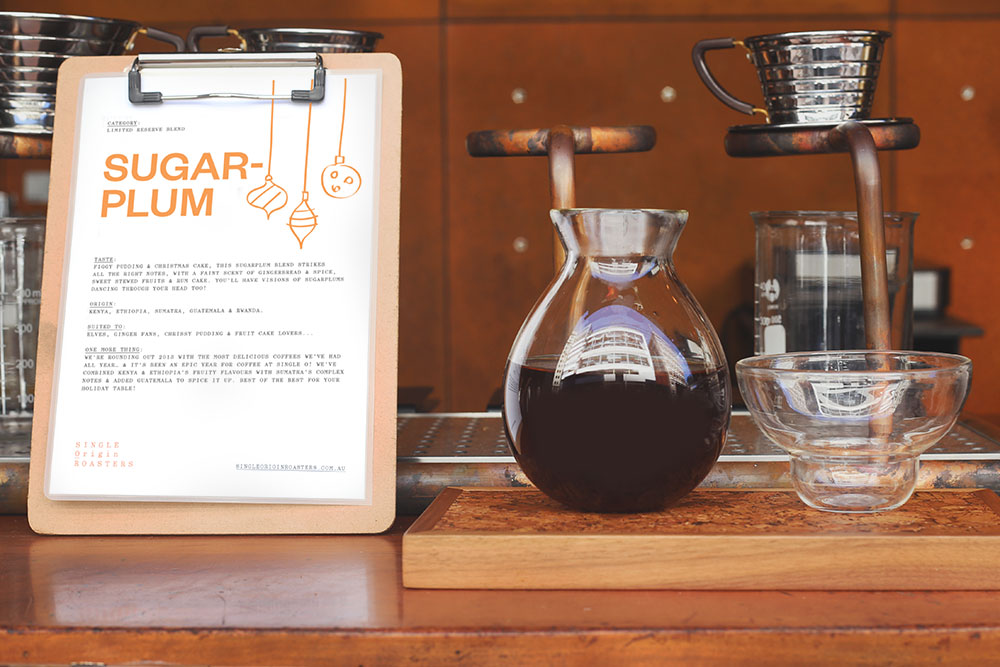 Single Origin Roasters Sugarplum filter